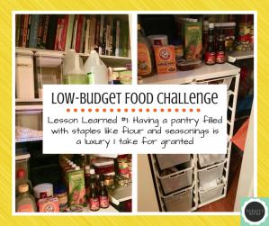 low budget challenge lesson 1