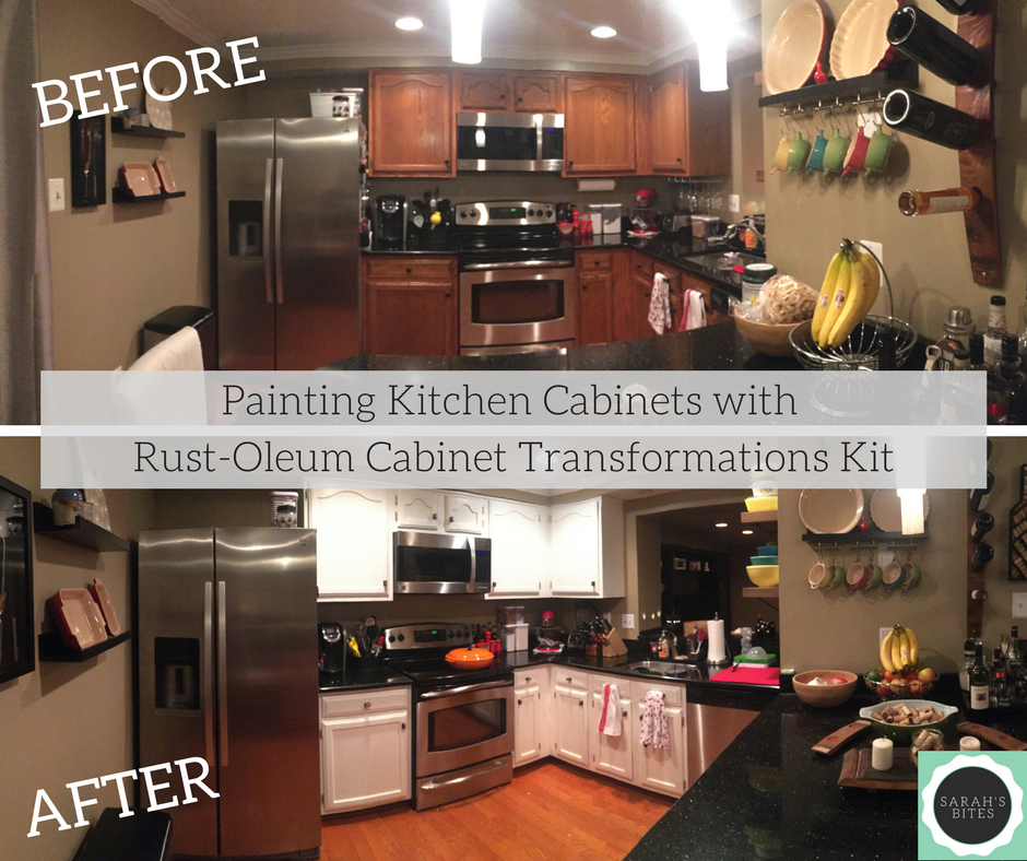 Painting Kitchen Cabinets With Rust Oleum Cabinet Transformations Kit