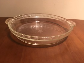 Pie plate, 1940s