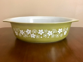 Spring blossom large casserole, 1970s