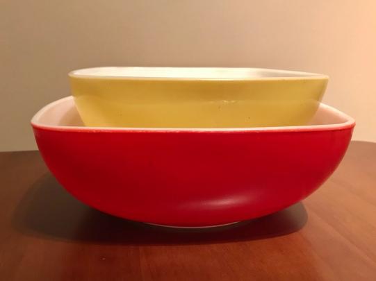 Hostess Bowls, #015 & 025, 1949-1953