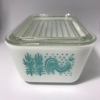 Butterprint Refrigerator Dish #502 (1957-1968)