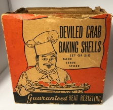 McKee Deviled Crab Baking Shells