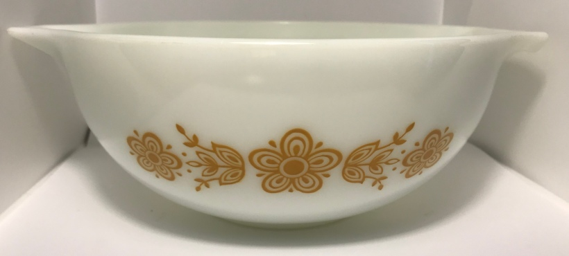Butterfly Gold Cinderella Bowl